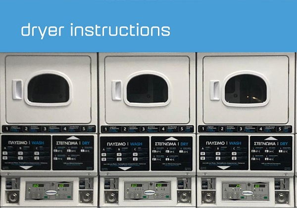 SELF-SERVICE-DRYER LAUNDRY